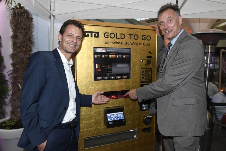 Rudolf Engelsberger (59) wohnt in AU SG in der Schweiz und ist CEO der Schweizer GOLD TO GO AG aus Küssnacht © Rudolf Engelsberger
