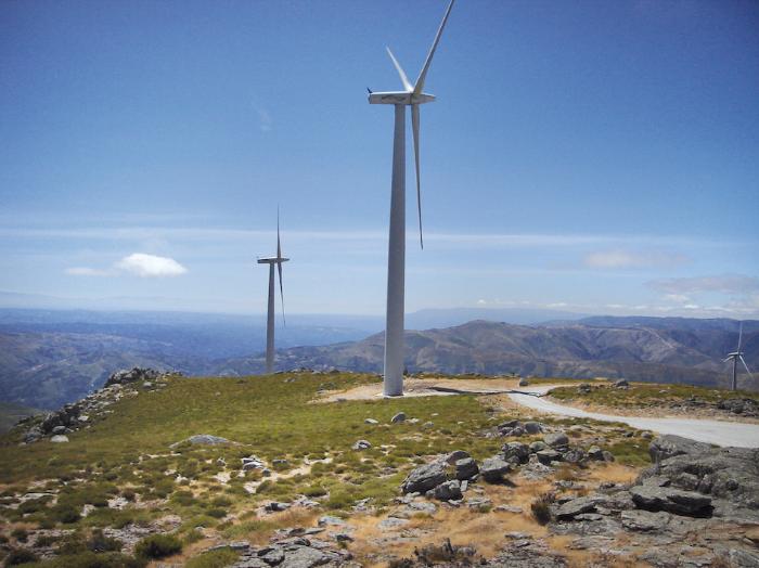 Windpark der Energiekontor AG in Portugal © Pressefoto Energiekontor AG