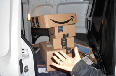 Amazon setzt bei der Paketauslieferung auf Paketfahrer in Subunternehmen © Pressefoto AmazongBlog dayone