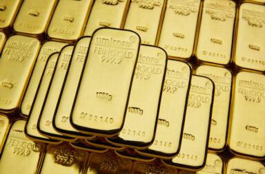 """Umicore-Goldbarren aus dem hessischen Hanau-Wolfgang gibt es in den Größen 1g bis 12,5kg. Sie besitzen den """"LBMA Good Delivery-Status"""" und sind mit dem Zertifikat des """"Responsible Jewellery Council"""" ausgezeichnet © Pressefoto obs/Umicore AG & Co.KG/Dimitri Lowette"""