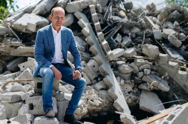 """Michel Baars, Gründer und Direktor von New Horizon aus Geertruidenberg in den Niederlanden: """"New Horizon glaubt an die Kreislaufwirtschaft als neues Wirtschaftsmodell."""" © Pressefoto New Horizon"""